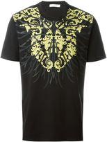 Versace front print T-shirt