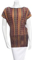 Missoni Oversize Patterned Top