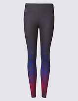M&S Collection Performance Ombre Print Leggings