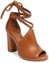Frye Women's Suzie Pickstitch Lug High Heel Sandal