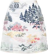 ADAM by Adam Lippes jacquard mini skirt