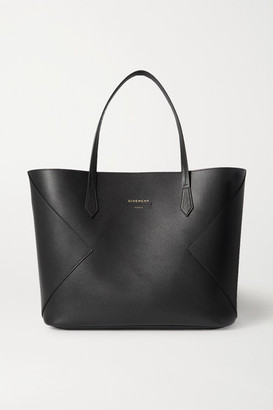 Givenchy Wing Paneled Leather Tote - Black