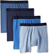 Hanes Men's 4 Pack Ultimate Stretch Boxer Brief - Colors May Vary