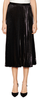 Diane von Furstenberg Heavyn Pleated Midi Skirt