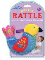 Eeboo Infant Bird Rattle