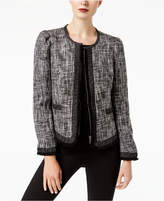 INC International Concepts Cropped Tweed Jacket, Created for Macy's