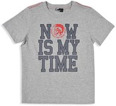 Diesel Boys' Now Is My Time Tee - Sizes 2-7