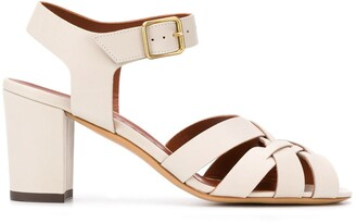 Michel Vivien Block-Heel Sandals