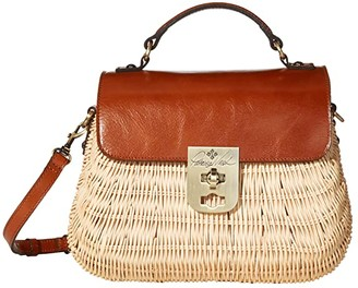 Patricia Nash Colimena Satchel (Natural/Tan) Bags