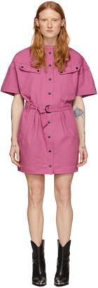 Etoile Isabel Marant Pink Zolina Dress