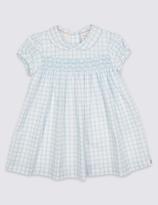 Marie Chantal Marie-chantal Girls Woven Check Dress (3 Months - 5 Years)