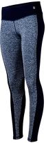 Therapy Heather Navy Performance Leggings - Plus Too