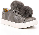 Steve Madden Girls J-Bryanne Pom Pom Sneakers
