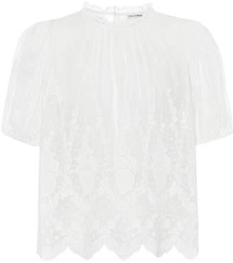 Ulla Johnson Emmie cotton blouse