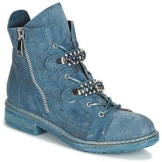 NOW PICABO women's Mid Boots in Blue