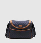 Gucci Blue Nylon Guccissima Diaper Bag