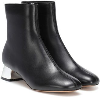 Marni Leather ankle boots