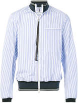 Oamc striped shirt bomber jacket