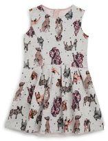 Catimini Toddler's, Little Girl's & Girl's Printed Dress & Tulle Skirt