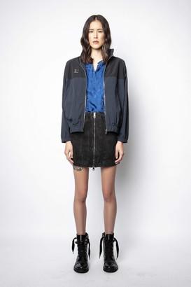Zadig & Voltaire Jangle Acid Wash Skirt