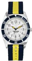 Trendy Junior Trendy KL227-Junior Boy's Quartz Analogue Watch-Face-Grey Fabric Strap Multicoloured