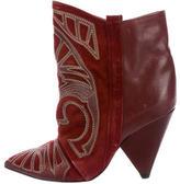 Isabel Marant Memphis Suede Ankle Boots