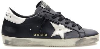 Golden Goose Superstar Sneaker in Black/White