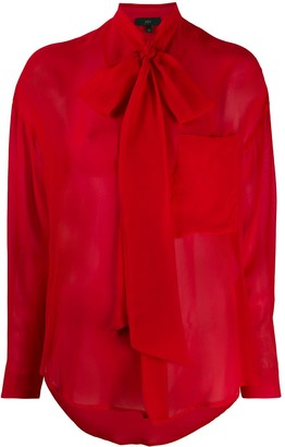 Jejia Bow Tie Blouse