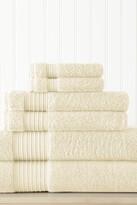 Amrapur 6-Piece Turkish Cotton Towel Set - Ivory