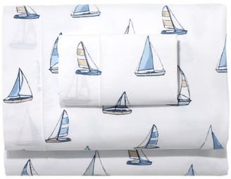 L.L. Bean Sailboat Percale Sheet Collection