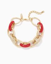 Charming charlie Dazzling Chain Link Bracelet
