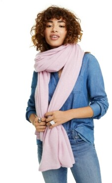 Charter Club Oversized Cashmere Scarf, Created for Macy's