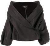 Rochas wrap front jacket