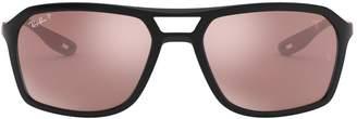 Ray-Ban x Scuderia Ferrari Square Sunglasses