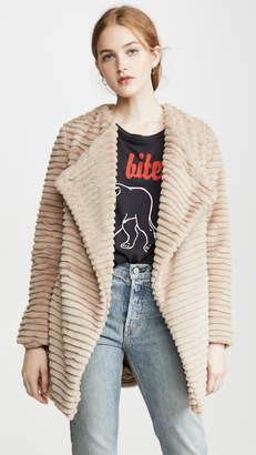 BB Dakota Fab Moment Faux Fur Jacket