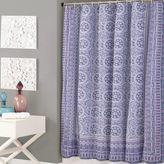 Jessica Simpson Mosaic Shower Curtain in Purple