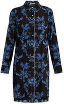Stella-McCartney-Lingerie STELLA MCCARTNEY LINGERIE Poppy Snoozing stretch-silk pyjama shirtdress