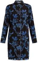Stella McCartney Poppy Snoozing stretch-silk pyjama shirtdress
