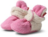 Zutano Cozie Fleece Furry Lined Bootie - Size 6 month