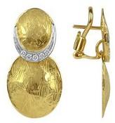 Torrini Lenticchie - 18K Gold and Diamond Earrings
