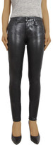 Articles of Society Sarah Mid Rise Coated Skinny Jean