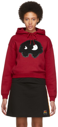 McQ Red Classic Mad Chester Hoodie