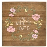 Cathy's Concepts Home Rustic Wood Sign