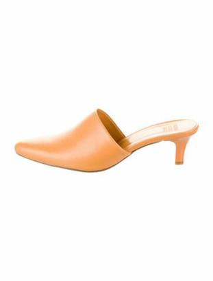 Maryam Nassir Zadeh Andrea Leather Mules Orange
