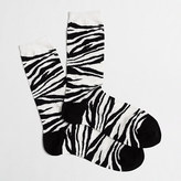 J.Crew Factory Factory tiger-striped socks