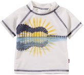 City Threads Acoustic Sunset Rashguard (Baby) - White-3-6 Months