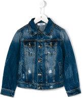 MSGM denim jacket - kids - Cotton - 14 yrs