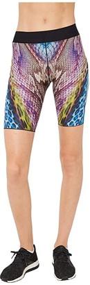 ULTRACOR Safari Aero Shorts (Horizon Print/Iridescent Gold) Women's Shorts