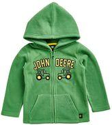 John Deere Baby Boy Embroidered Fleece Hoodie