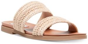 Steve Madden Women's Dede Woven Slide Sandals